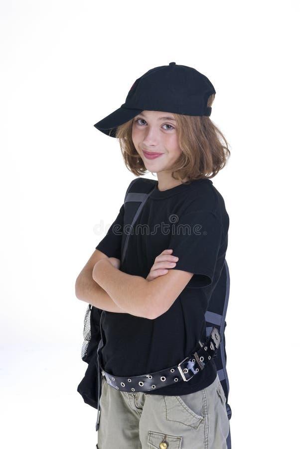Grunge Girl stock images