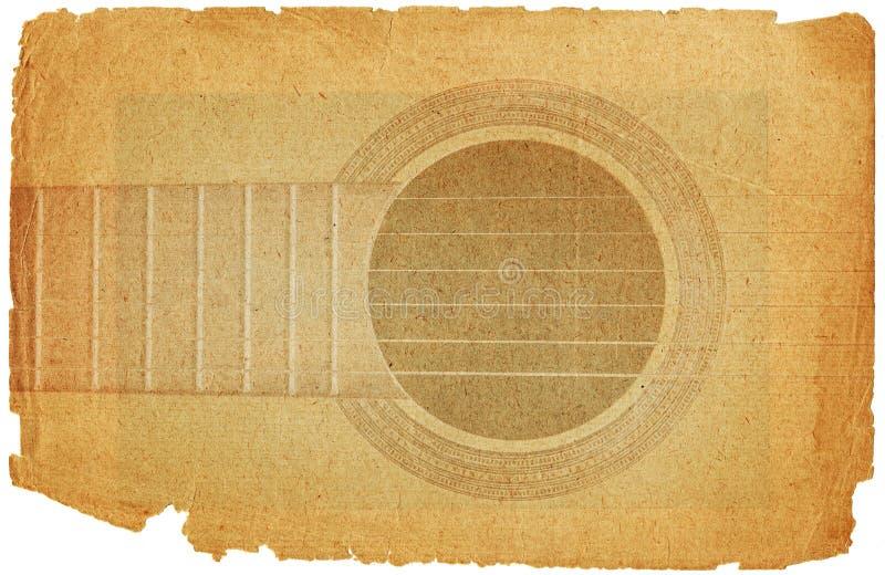 grunge gitary styl ilustracja wektor
