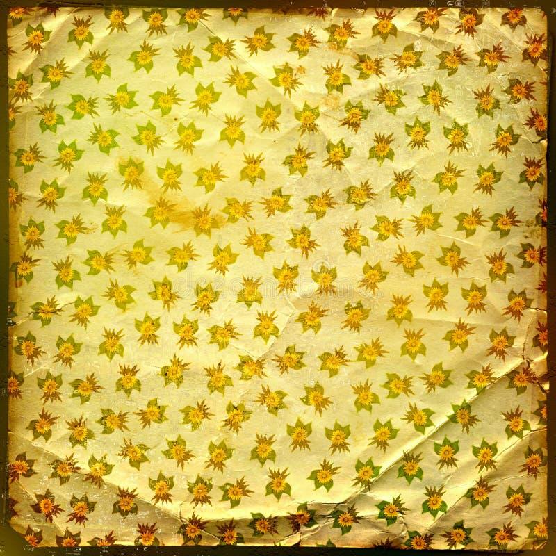 Grunge Goldhintergrund lizenzfreies stockbild