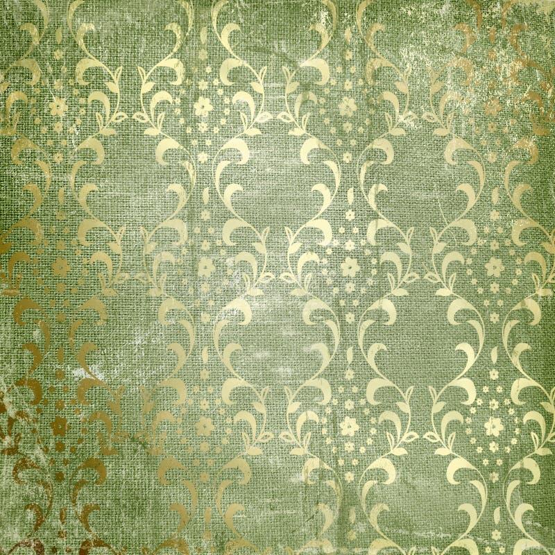 Grunge grüner Hintergrund vektor abbildung