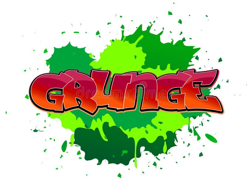 Download Grunge graffiti background stock vector. Image of paint - 16643433