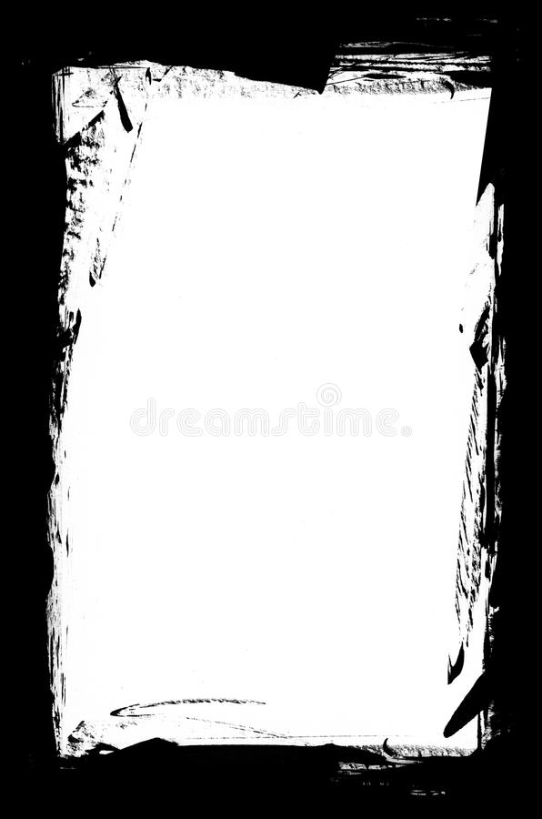 grunge graniczny zdjęcie stock