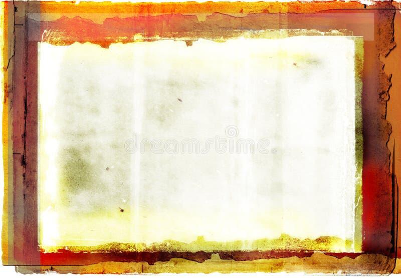 grunge graniczny ze zdjęciami zdjęcia royalty free