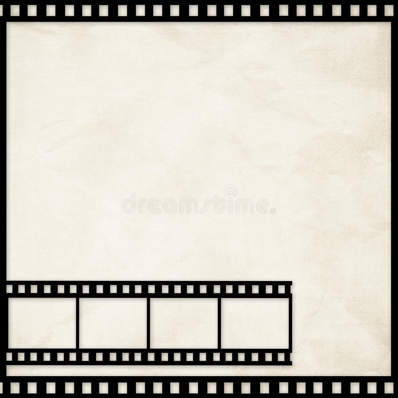 Free Grunge Graphic Abstr Backgr With Film Digital Royalty Free Stock Photography - 14542547