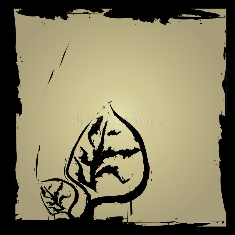 grunge grens royalty-vrije illustratie