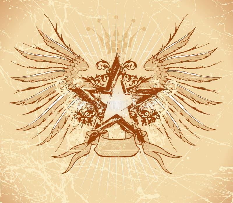 grunge gwiazdy skrzydła