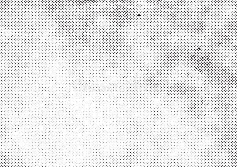 Grunge halftone vector. Print background royalty free illustration
