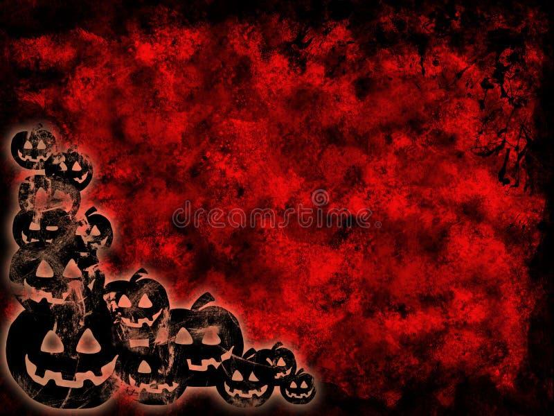 grunge halloween иллюстрация штока