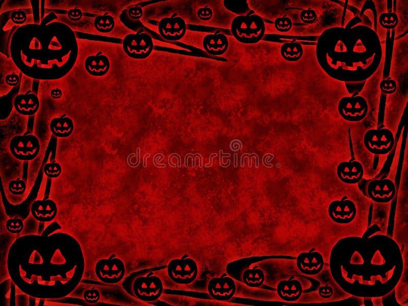 Grunge Halloween Royaltyfri Fotografi