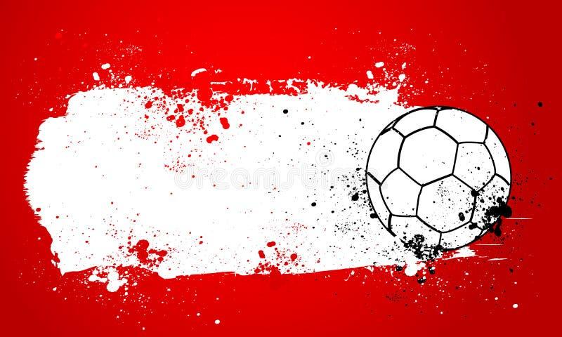 Grunge Handball ilustracji