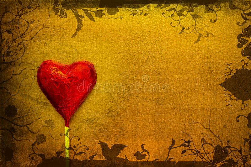 Grunge Heart Stock Photos