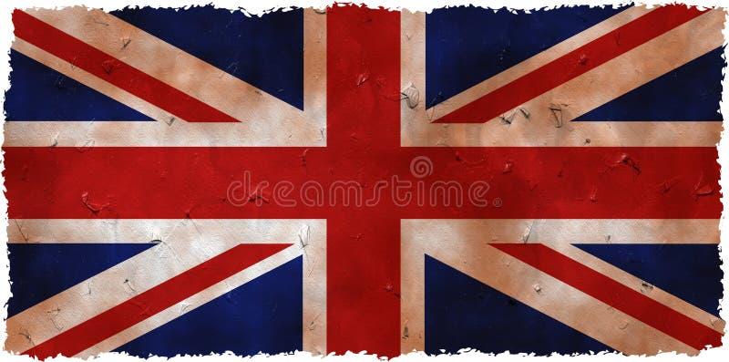Grunge het UK stock illustratie