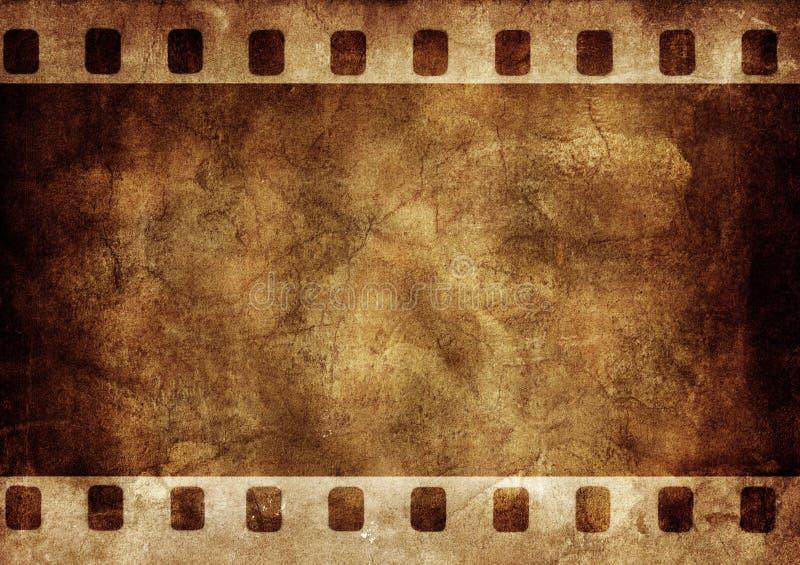 Grunge Hintergrund-Fotofeld stock abbildung