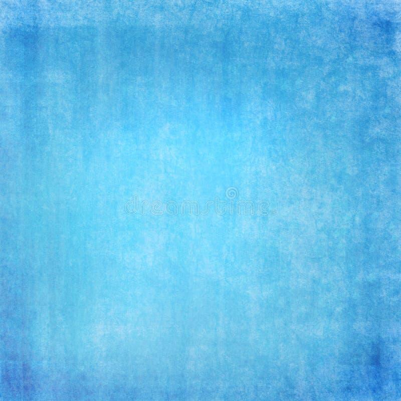 Grunge Hintergrund im Blau lizenzfreie abbildung