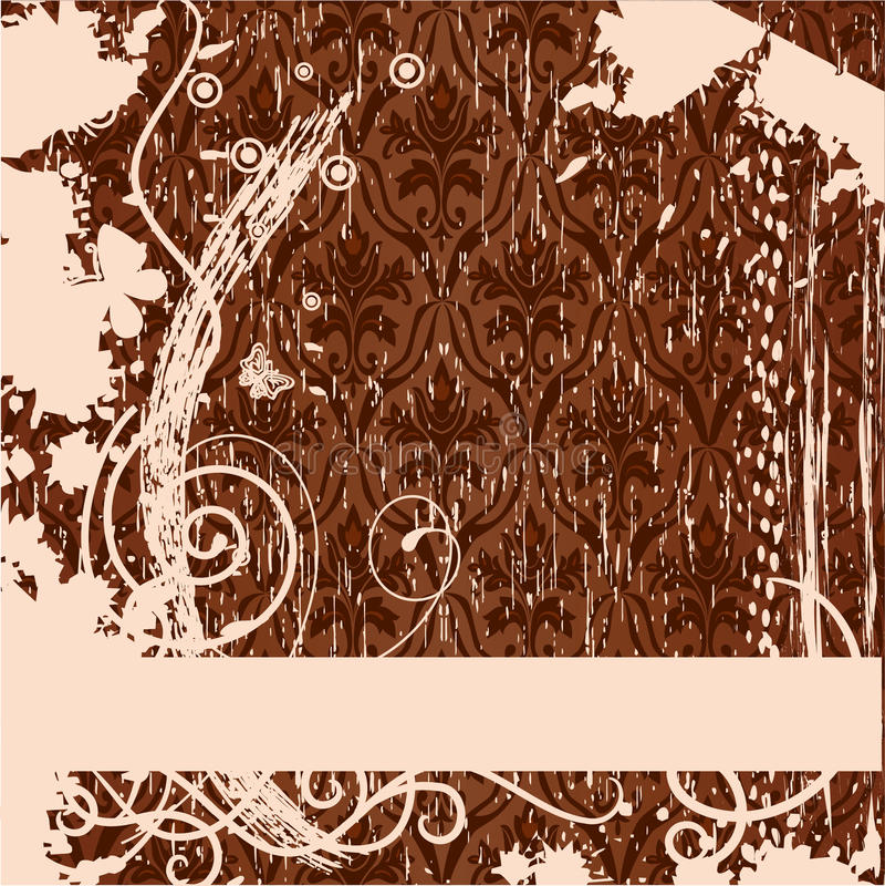 Grunge Hintergrund. Vektorabbildung vektor abbildung