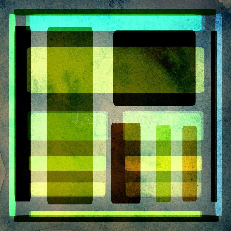 Grunge Hintergrundauslegung vektor abbildung