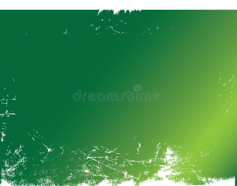 Grunge Hintergrundgrün stock abbildung