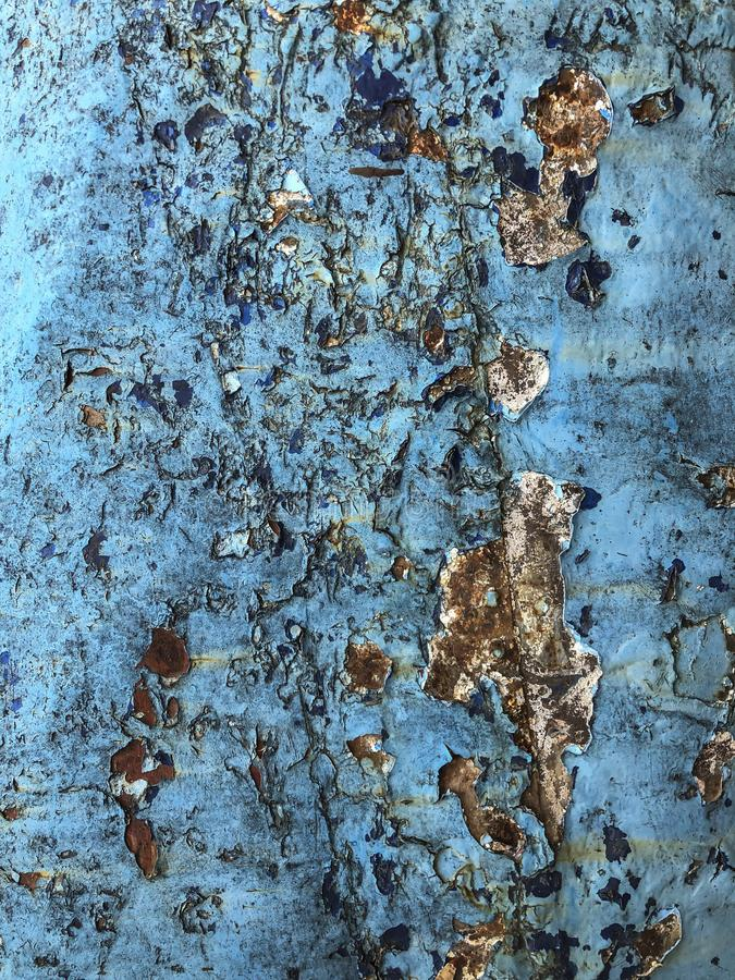Grunge i pękający błękitny tło obraz royalty free