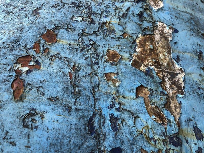 Grunge i pękający błękitny tło zdjęcie stock