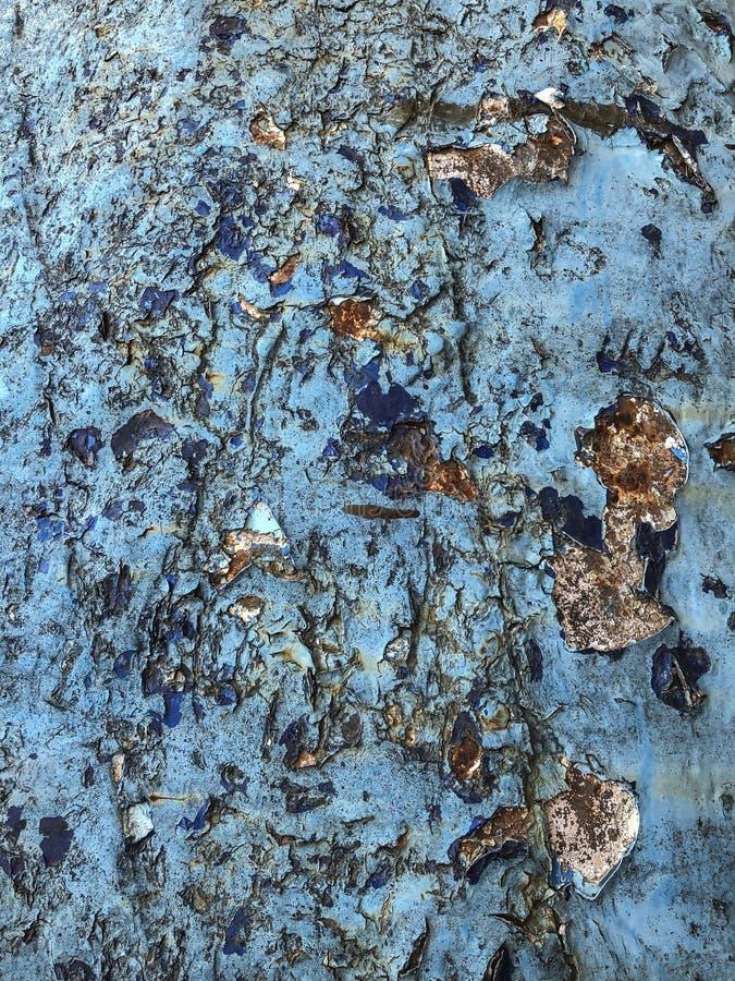 Grunge i pękający błękitny tło zdjęcia stock