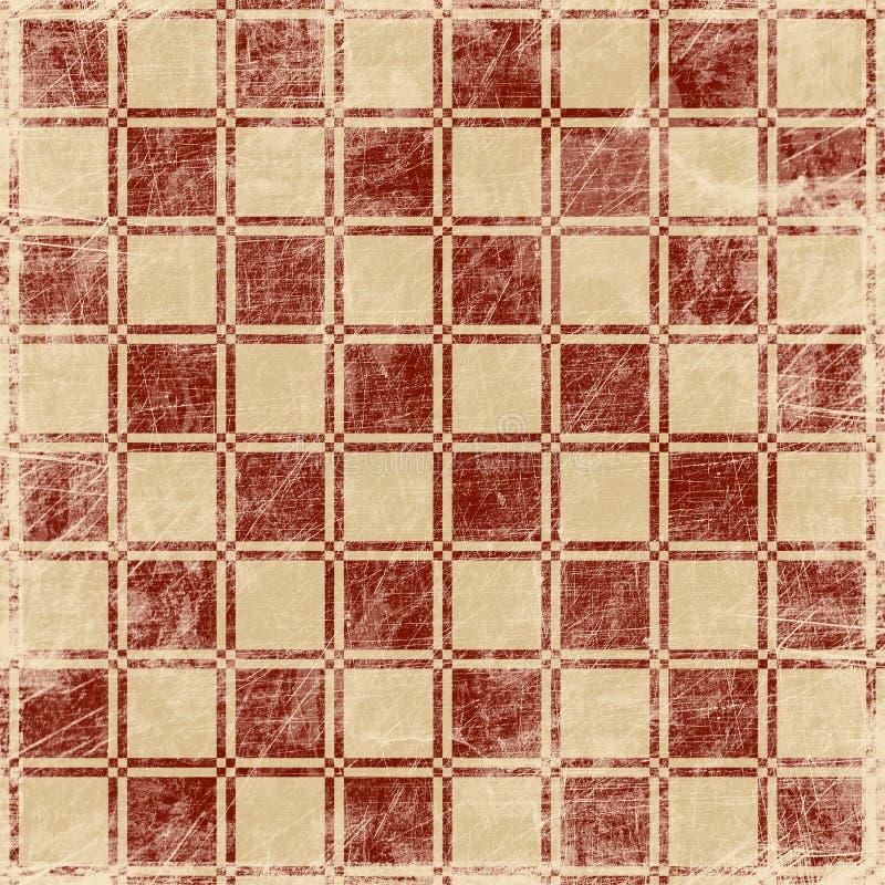 Download Grunge Illustration Of Chessboard Stock Illustration - Illustration of abstract, mosaic: 23155287