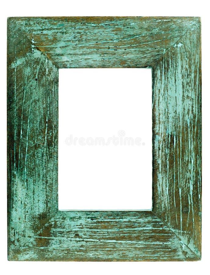 Grunge image frame. Isolated on a white background royalty free stock photos