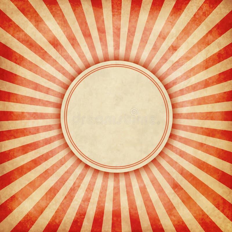 Grunge irradia el fondo ilustración del vector