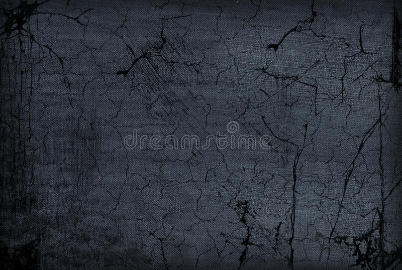 Grunge Jeans With Cracks Royalty Free Stock Photography