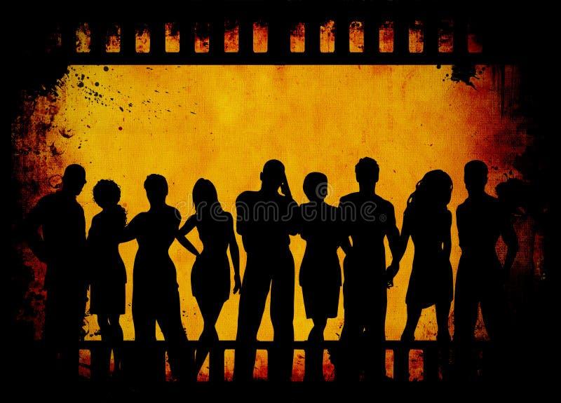 Grunge Jugend stock abbildung