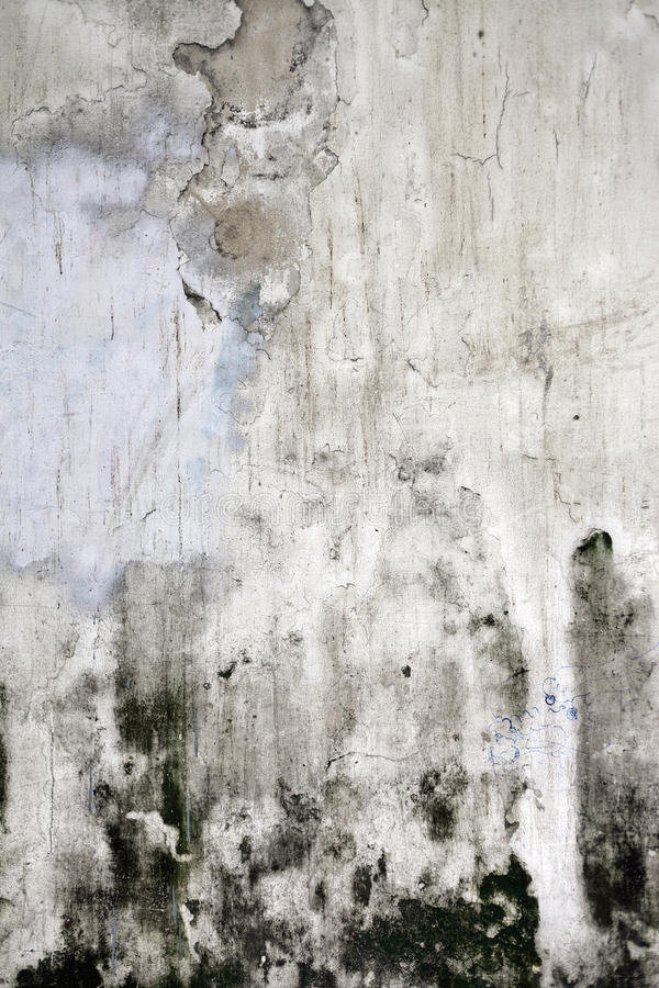 Grunge knackte Betonmauer vektor abbildung