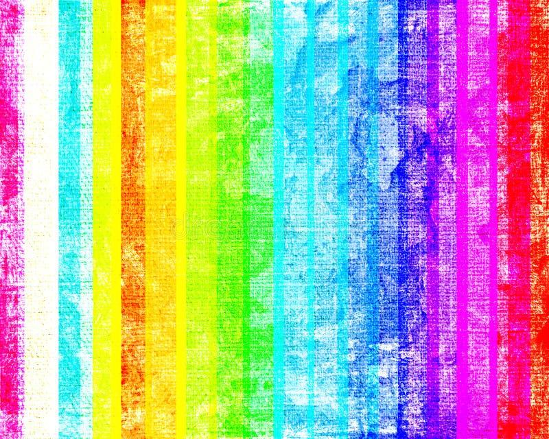grunge kolorowi lampasy ilustracji