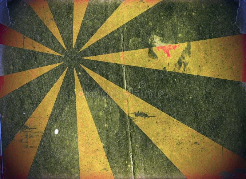 Grunge kolorowy textured abstrakcjonistyczny tło ilustracja wektor