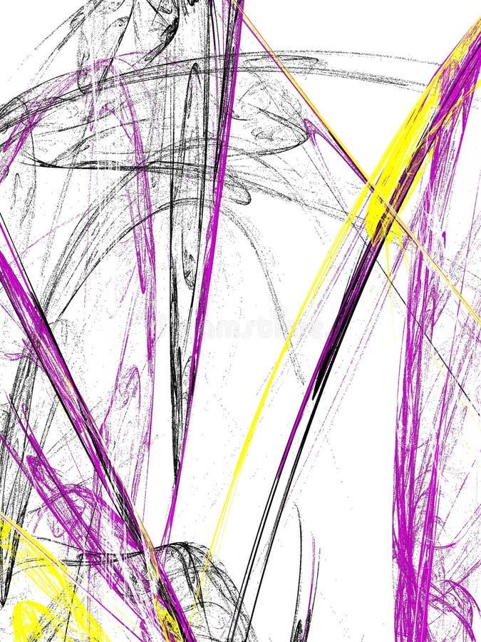 Grunge kontrasta abstrakcjonistyczny tło na białym tle ilustracji