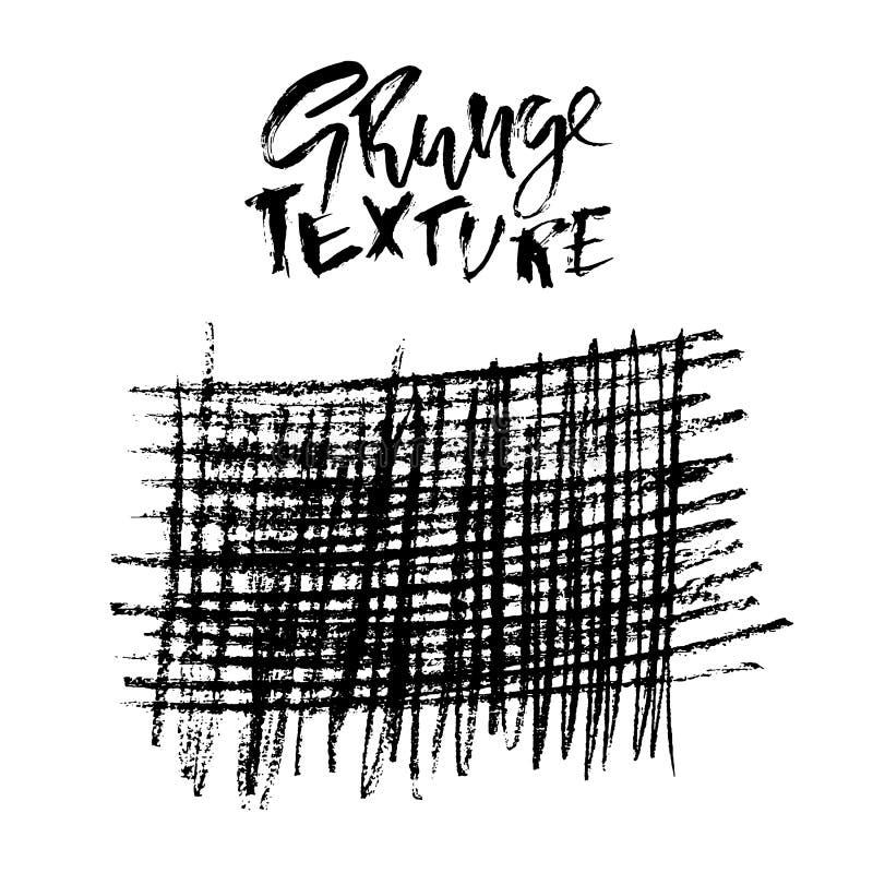 Grunge kredy zakłopotana tekstura Abstrakt siatki pasiasty tło również zwrócić corel ilustracji wektora royalty ilustracja