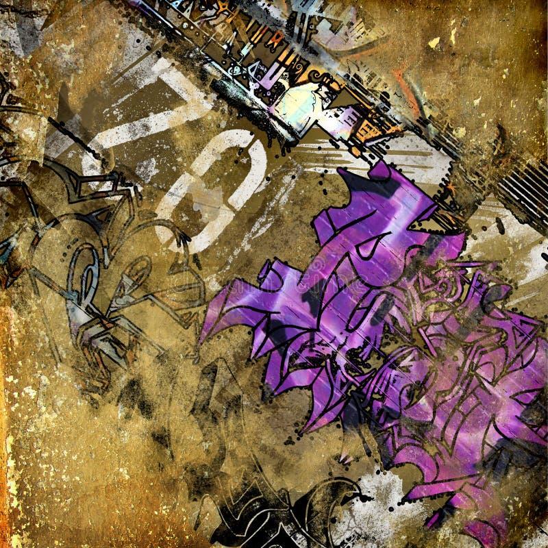 Grunge Kunst lizenzfreie abbildung