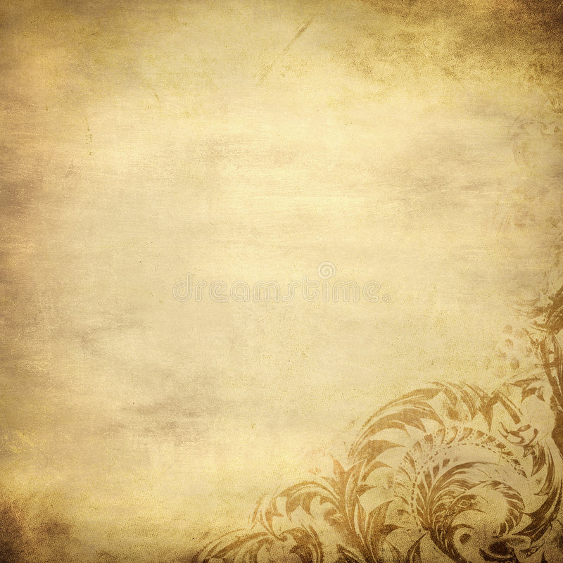 Grunge kwiecisty tło z przestrzenią dla teksta ilustracji