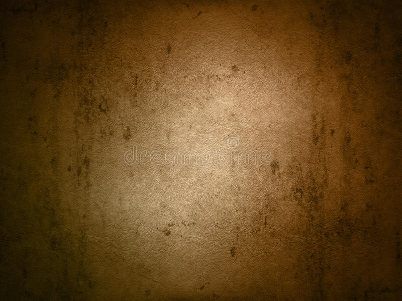 Grunge leather texture. Grunge style background with a leather texture stock illustration