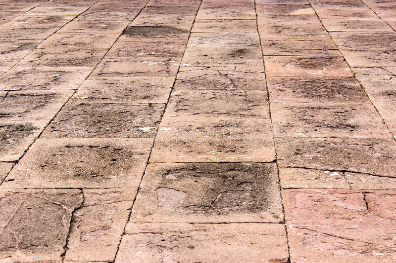 Grunge line street cement tile royalty free stock images