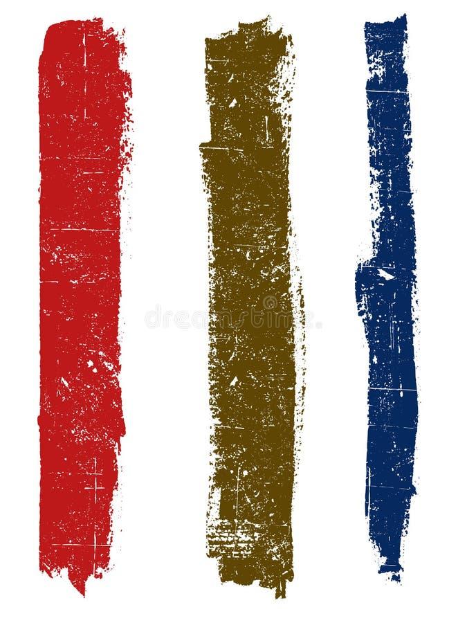 Grunge Lines 1 stock illustration