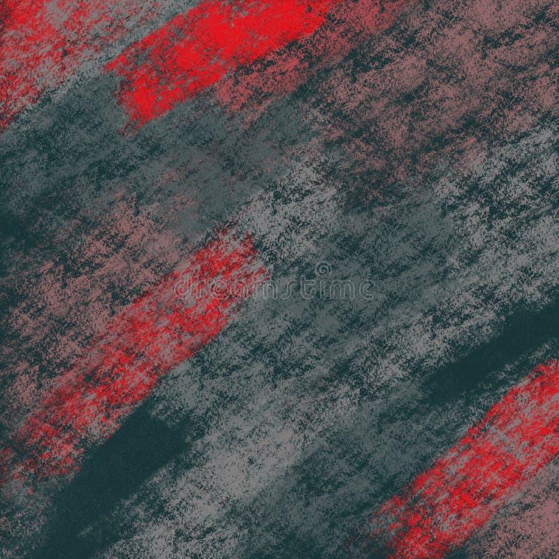 Grunge Malująca papierowa tekstura Tło grafika z grungy pastelami royalty ilustracja