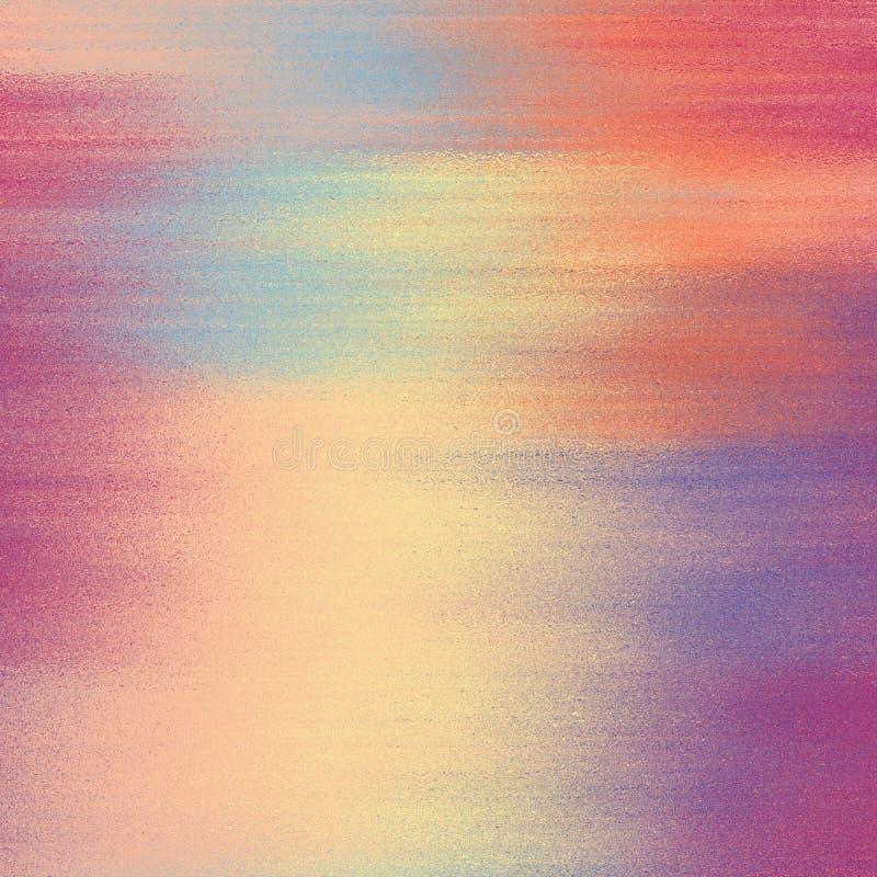 Grunge manchado, fondo borroso del arco iris en colores en colores pastel libre illustration