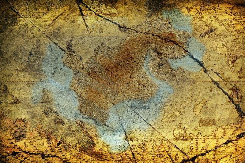 grunge mapa zdjęcia royalty free