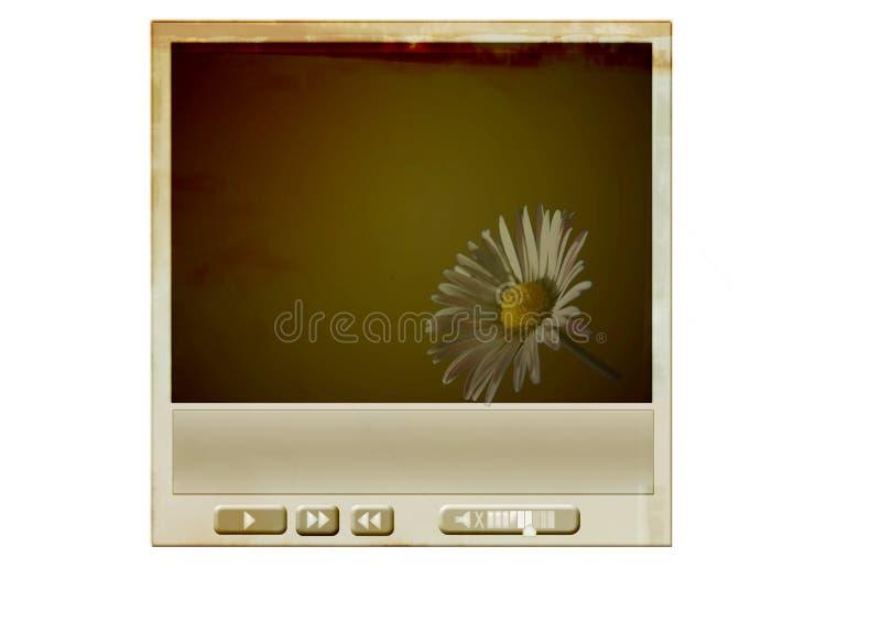 Download Grunge media player stock illustration. Image of monitor - 6093737