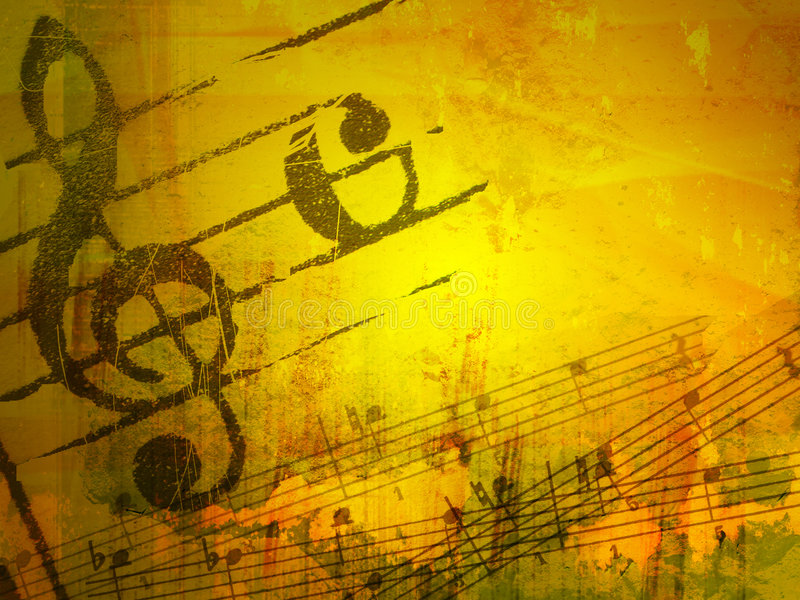 Download Grunge Melody Textures And Backgrounds Stock Illustration - Image: 4654878