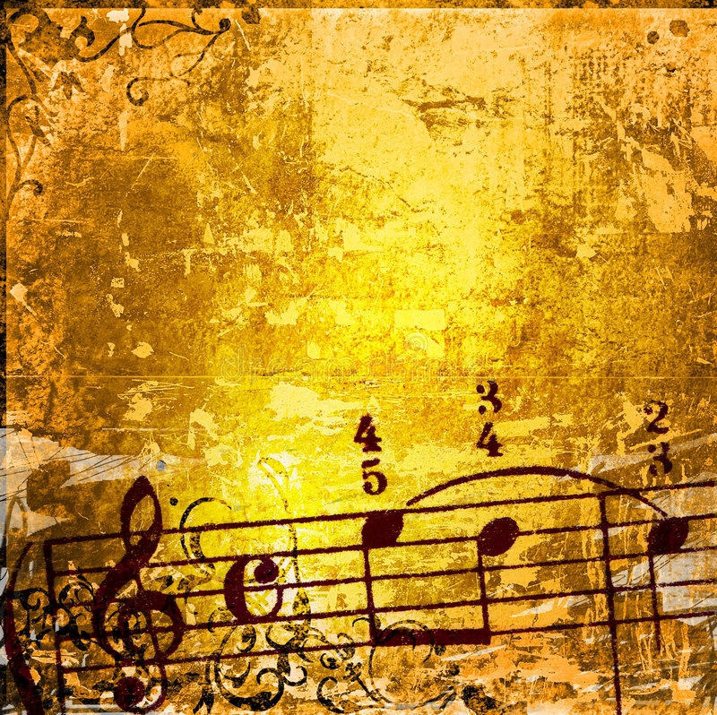 Download Grunge Melody Textures And Backgrounds Stock Illustration - Image: 4903962