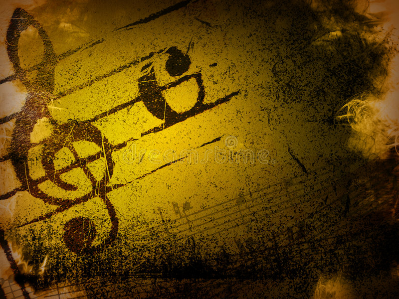 Download Grunge Melody Textures And Backgrounds Stock Illustration - Image: 4965622