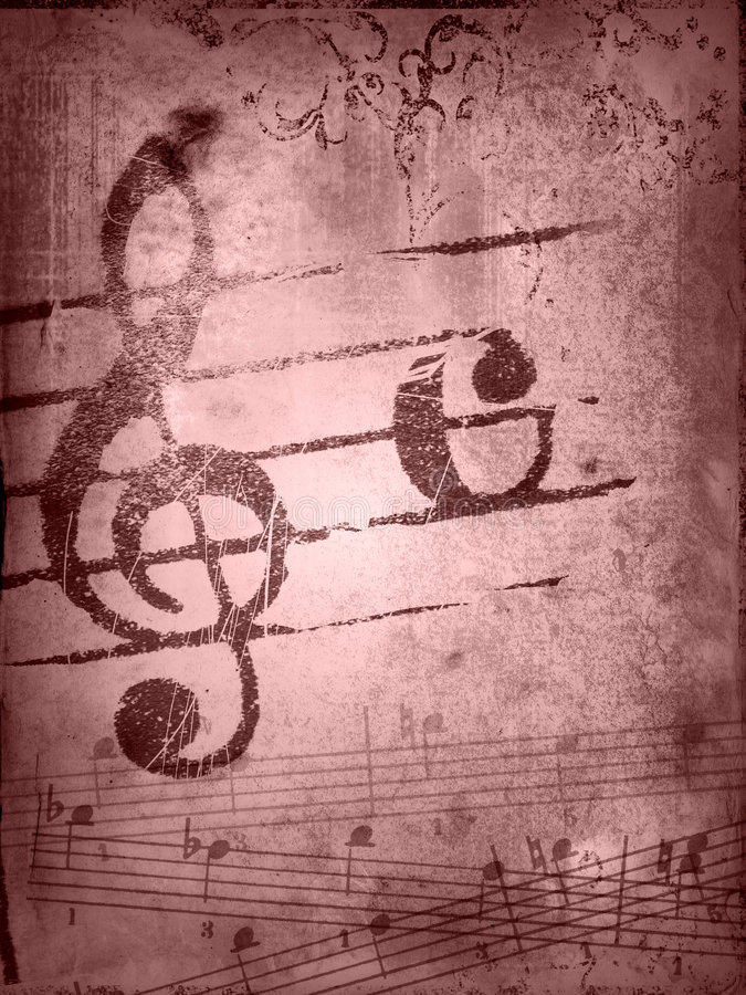 Download Grunge Melody Textures And Backgrounds Royalty Free Stock Photo - Image: 5468335
