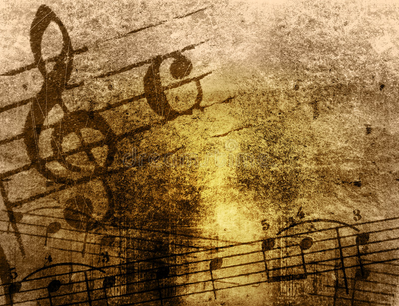 Download Grunge Melody Textures And Backgrounds Stock Illustration - Illustration: 5916497