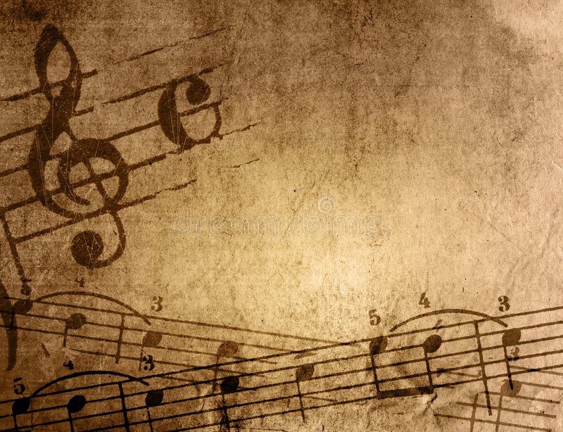 Download Grunge Melody Textures And Backgrounds Stock Illustration - Illustration: 7114659