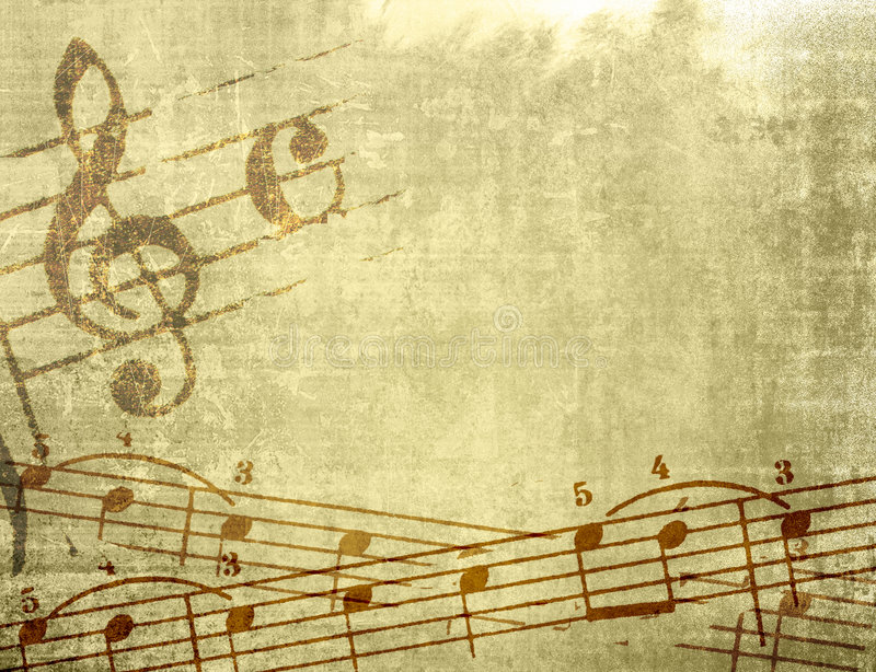 Download Grunge Melody Textures And Backgrounds Stock Illustration - Image: 7375226